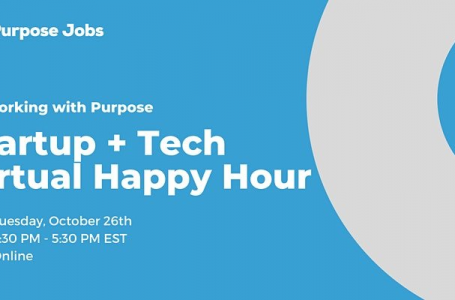 Startup + Tech Virtual Happy Hour